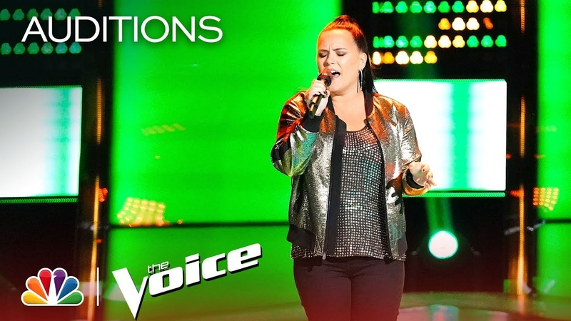 Natasia GreyCloud Stuns with Sam Smith's I'm Not the Only One - The Voice 2018 Blind Auditions