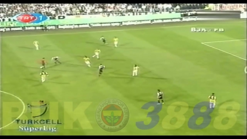 Beşiktaş - Fenerbahçe 0-1 Geniş Özet (2006-07) 31.Hafta