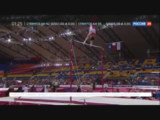 Гимнаст Артур Далалоян стал чемпионом мира в многоборье