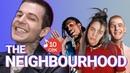 Узнать за 10 секунд THE NEIGHBOURHOOD угадывают треки Billie Eilish Arctic Monkeys и еще 18 хитов