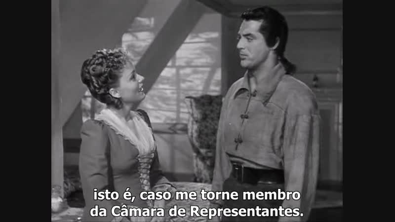 A Flama da Liberdade 1940 Leg com Cary Grant, Martha Scott, Cedric Hardwicke