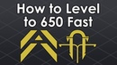 Destiny 2 How to Level Up to 650 Fast in Forsaken/Black Armory