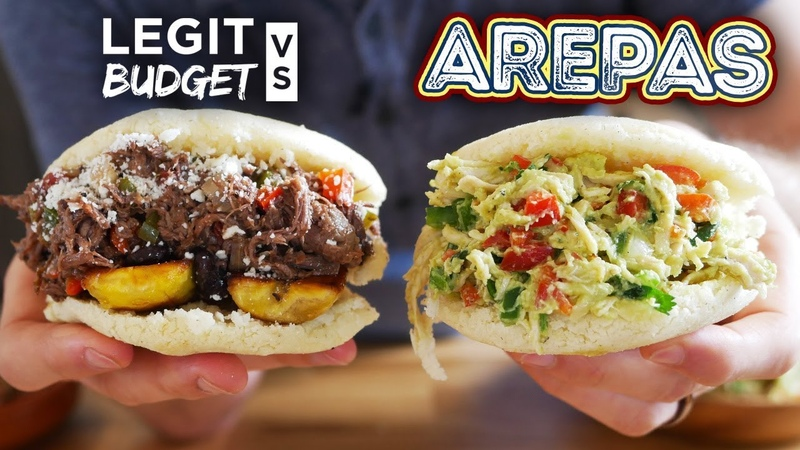 The Venezuelan Arepa gives ANY sandwich a run for its money