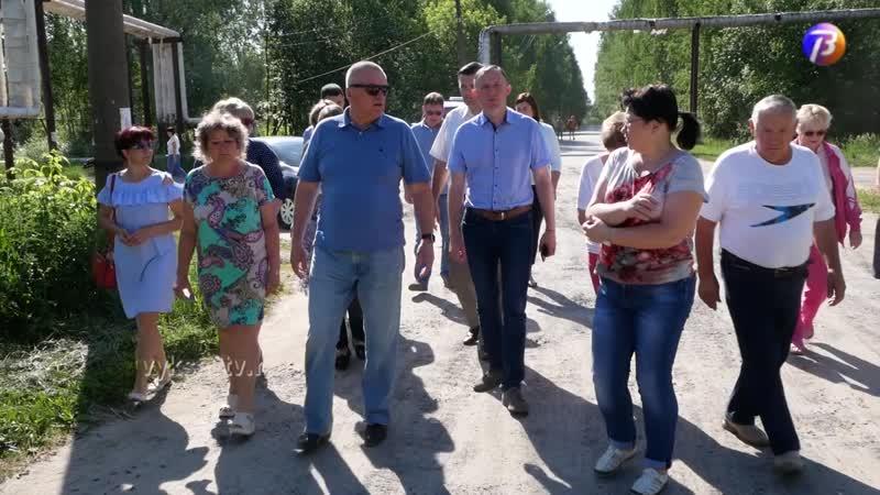 Выкса МЕДИА объезд главы поселок Дружба