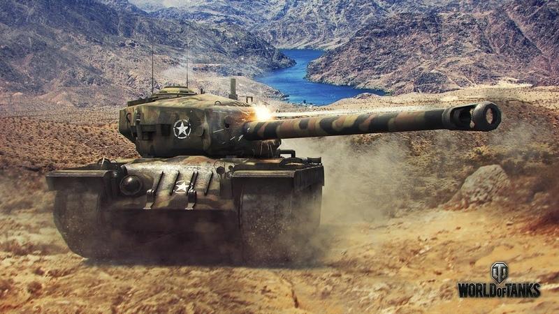 World of Tanks тестовый отрезок №1