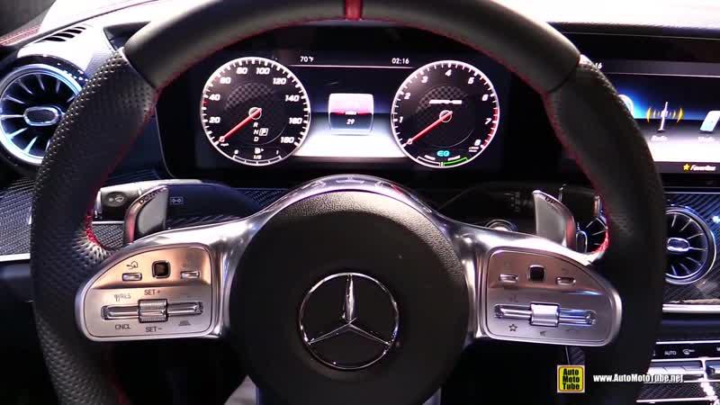 2019 Mercedes AMG CLS 53 - Exterior and Interior Walkaround - 2018 LA Auto Show