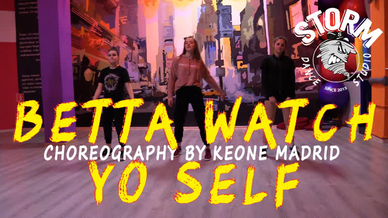 KSUSHA LERA MAYA | Problem - Betta Watch Yo Self | Choreography by Keone Madrid