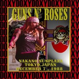 Guns N' Roses альбом Nakano Sunplaza, Tokyo, Japan, December 7th 1988