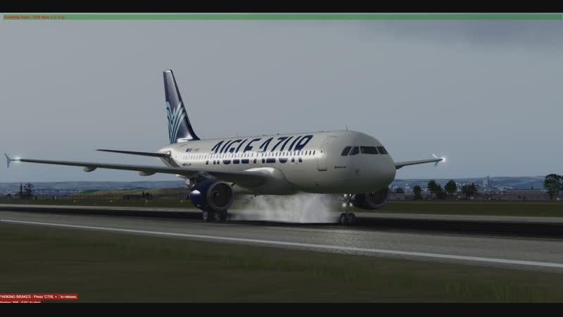 A320 Landing in Algiers