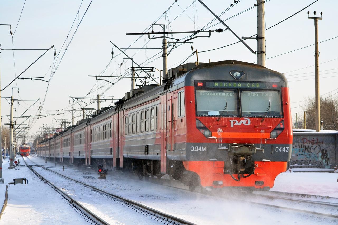 Расписание двух поездов Савеловского направления МЖД изменится с 14 января