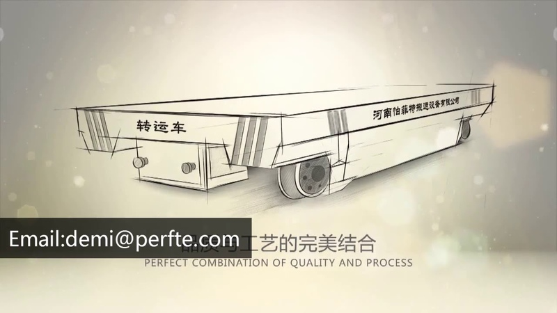 Transport wagon /rail transport platform vehicle /transfer car with load 30 ton