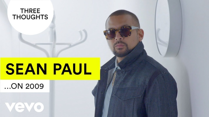 Sean Paul does his very own TenYearChallenge | Vevo Three Thoughts