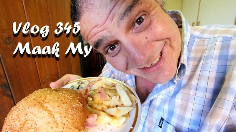 Vlog 345 Maak My Dag Kyk Die Vlog - The Daily Vlogger in Afrikaans 2018
