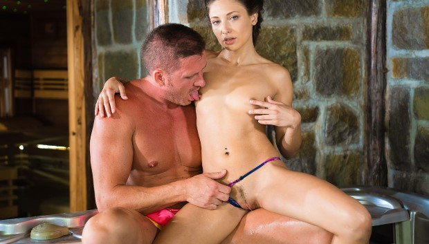 DaneJones - Cheating husband risky hot tub fuck