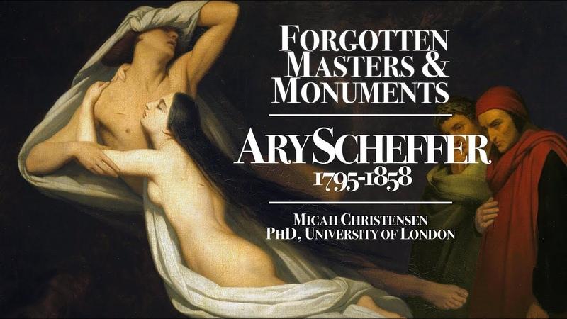Forgotten Master Ary Scheffer (Dutch/French, 1795-1858)