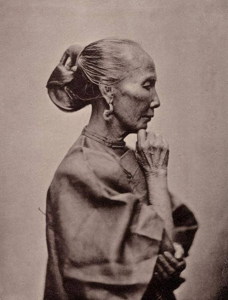 Китаянка Фото Джона Томсона, ок. 1874#снимки_из_прошлого