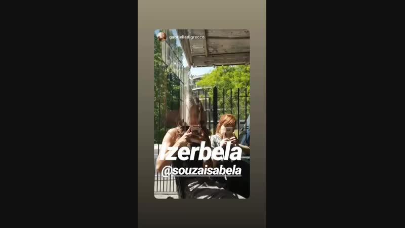 Isabela souza via Instagram stories
