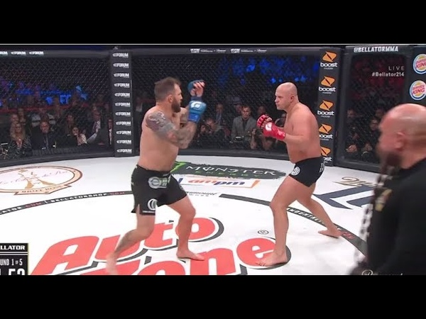 Fedor Emelianenko vs Ryan Bader Full Fight Bellator 214 HD