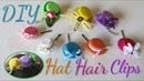 DIY Hair Clip Accessories Made out of Bottle Caps Cute and Fancy
