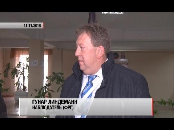 Международные наблюдатели на участках в Донецке и Старобешевском районе Актуально 11 11 18