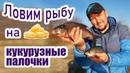 Ловим рыбу на кукурузные палочки. Как сделать сухую добавку дома?!