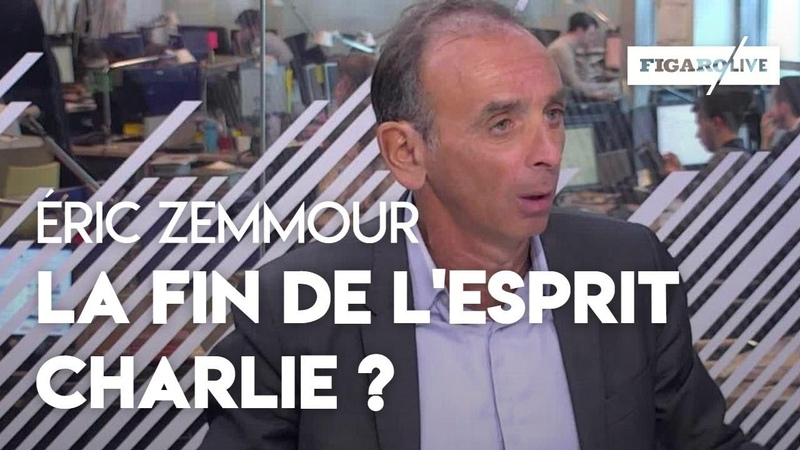 Zemmour : « l'esprit Charlie est en train de disparaître »