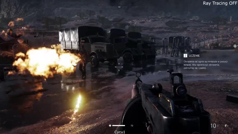Сравнение Battlefield V с включенной трассировкой лучей Nvidia RTX и без.
