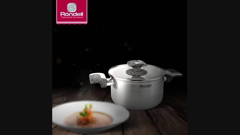 Кастрюля Marmara создана, чтобы вы наслаждались процессом приготовления блюд!