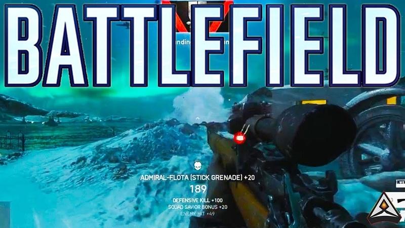 Shooting a grenade in mid-air! - Battlefield Top Plays