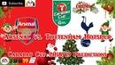 Arsenal vs. Tottenham Hotspur | EFL Cup Carabao Cup 2018-19 Quater Final | Predictions FIFA 19