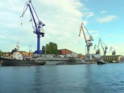 Новейшую подлодку Кронштадт спустили на воду в Санкт-Петербурге - Россия Сегодня