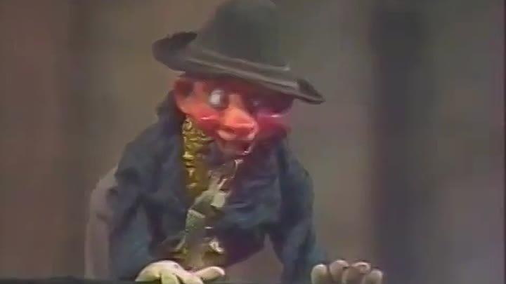 Вокруг смеха 11 выпуск 1981 год, Кукольная миниатюра Любящий муж...