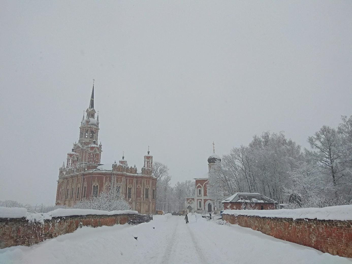 Заснеженный Можайск. Февраль 2019 год.