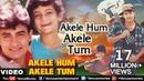 Akele Hum Akele Tum Full Video Song Aamir Khan Manisha Koirala Udit Narayan Aditya Narayan