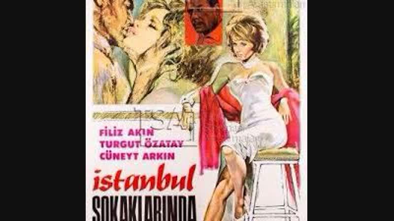 İstanbul sokaklarında Cüneyt Arkın filiz akın (1964 )