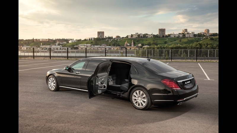 KLASSEN ® Mercedes Maybach S600 stretched by 1050mm Pullman Guard