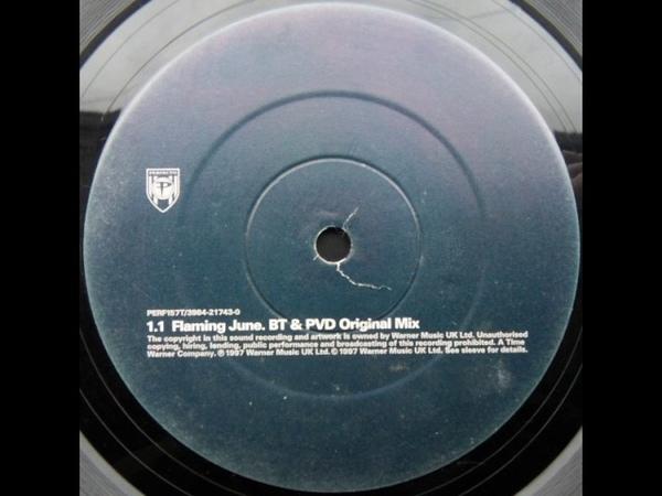 BT - Flaming June (BT PVD Mix) 1997