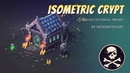 How to Draw Isometric Crypt ● Tutorial Promo ● [ Sephiroth Art ]