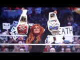 Becky Lynch Vs Ronda Rousey Vs Charlotte Flair - WrestleMania 35 (RAW &amp SD Womens Championship Match)