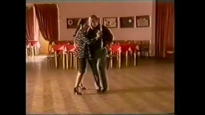 [Asi se baila milonga] - Pepito Avellaneda - Clase 18 vuelta fantasia con dos ganchos de la mujer