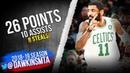 Kyrie Irving Full Highlights 2019.01.21 Celtics vs Heat - 26 Pts, 10 Aests, 8 Stls! | FreDawkins