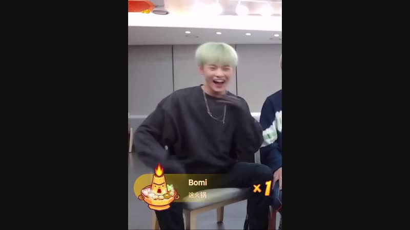 Chenle laughing and making a seal clap at the end, spilled out all my uwus for him.mp4
