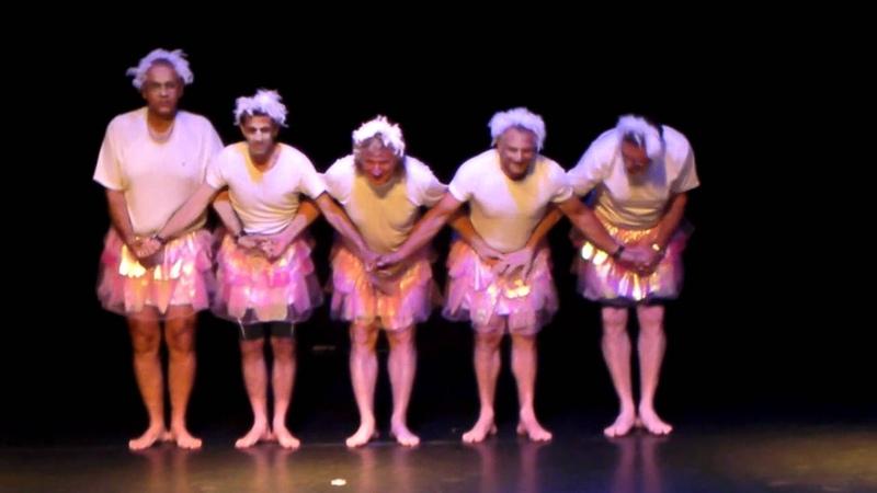 Swan Lake The Men Version אגם הברבורים הגרסה הגברית