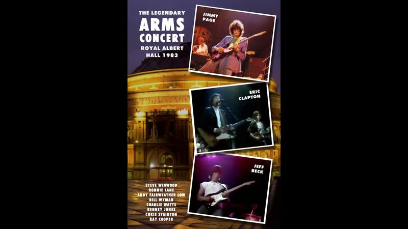 Steve Winwood with Eric Clapton - Roadrunner (Live in Royal Albert Hall ARMS Concert 20. 09. 1983)