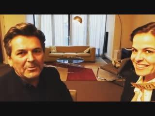Thomas Anders: Interview in Hotel DAS TRIEST, 03.11.2018 (Barbara Reiter)