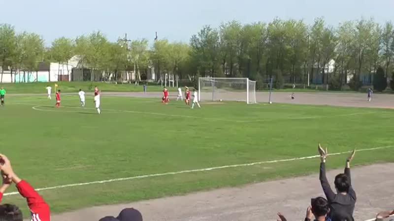 Бекжан Əліпбековтың Ақтөбе-U21 қақпасына соққан голы