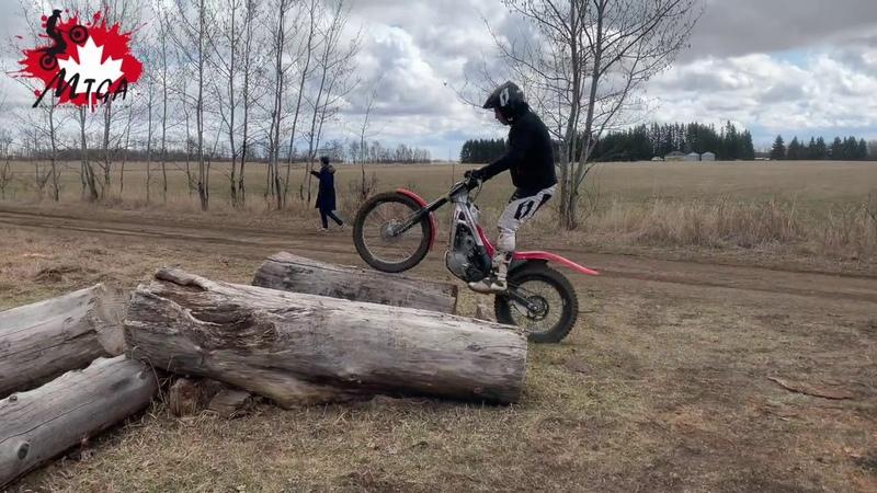 Jordi Pascuet Day 3 trials training, AB Canada