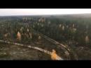 Танковый полигон Нясино с прожекторной вышки