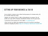1.3 Choosing your Brand Name + Setting up your Business and Tax ID