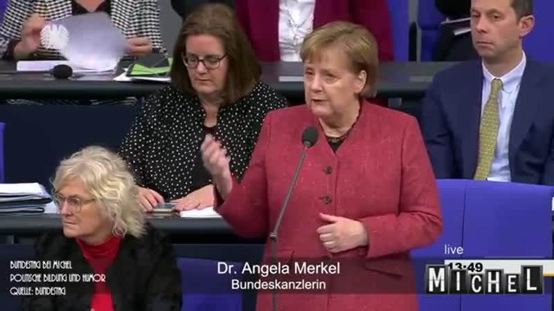 Merkel Warum messen wir nicht wie alle anderen Länder Merkelbefragung Satire